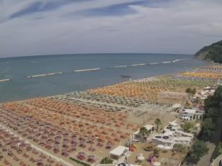 Plage Sud Gabicce Mare