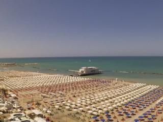 Plage Nord Gabicce Mare
